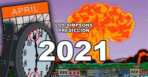 Predicciones de Los Simpson 2021: Elecciones de EE.UU ...