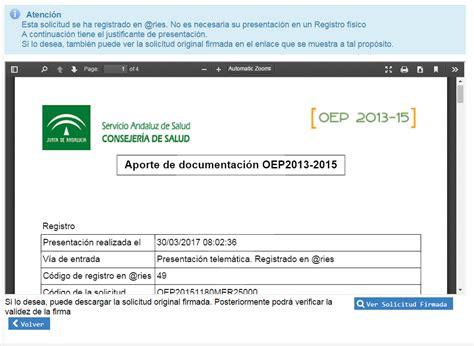 Preguntas y respuestas. OEP 2013 2015   Servicio Andaluz ...