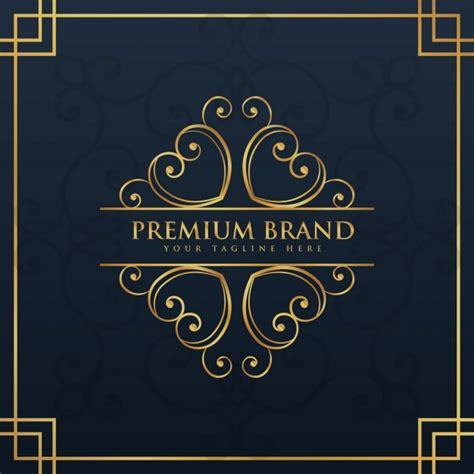 Premium ornamental logo   Free Vector