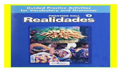 Prentice Hall Spanish Realidades Level 2 Guided Practice ...