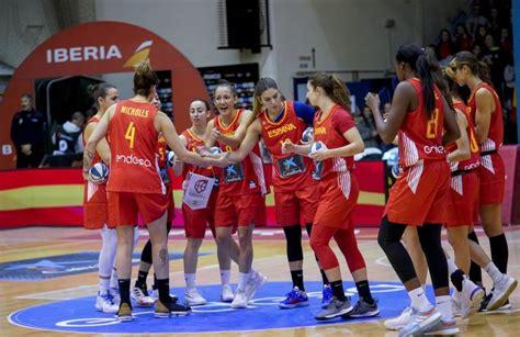 Preolímpico de baloncesto | La selección femenina de ...