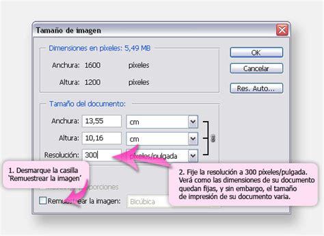 Preparar Imágenes en Alta Resolución para Imprimir   Solo ...