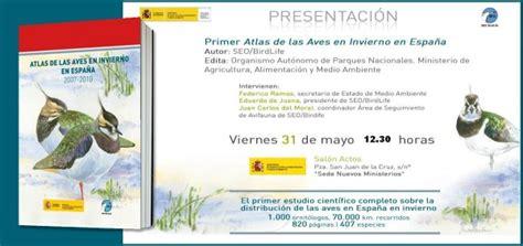 Presentación Atlas de las Aves en Invierno en España ...