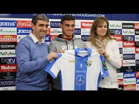 Presentación de Asdrúbal con el Club Deportivo Leganés ...