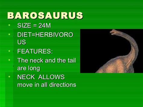 Presentación de dinosaurios inglés