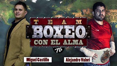 Presentación de programa Deportivo  Boxeo con el Alma ...