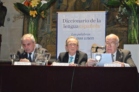 Presentación del Diccionario de la lengua española ...