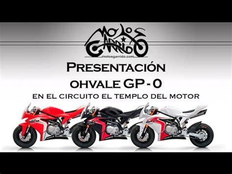 PRESENTACIÓN OHVALE GP 0 | MOTOS GARRIDO   YouTube