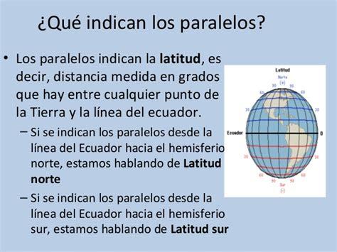 Presentación paralelos y meridianos