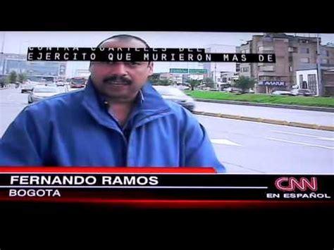 Presentador de CNN en Espanol Camilo Egana en su primer ...