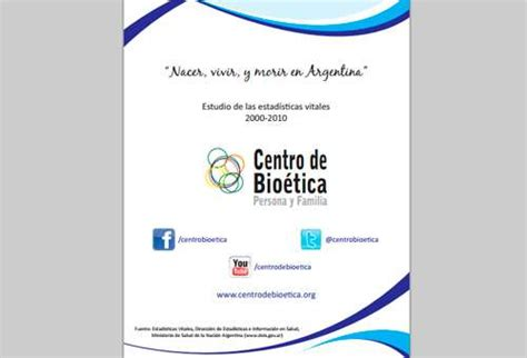 "Presentan informe ""Nacer, vivir y morir en Argentina"""