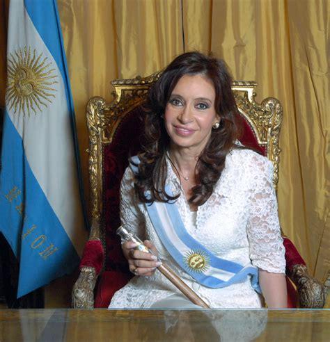 President of Argentina, Cristina Fernandez Kirchner, Mac ...