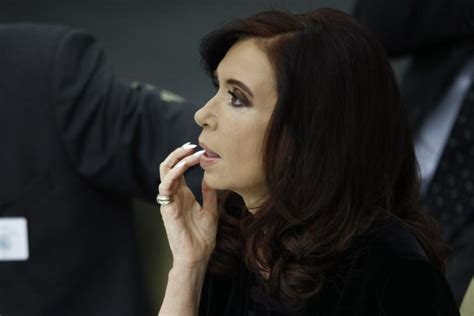 President Of Argentina Cristina Fernandez Ordered To One ...