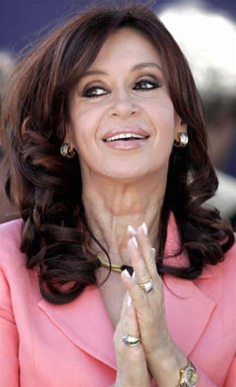 Presidenta argentina visita Venezuela   NY Daily News