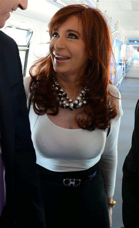 Presidenta Cristina Fernandez  seduce  a periodista ...