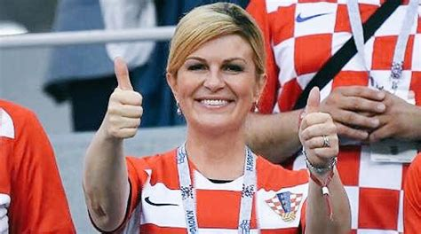 Presidenta de Croacia se descuenta sueldo por animar a su ...