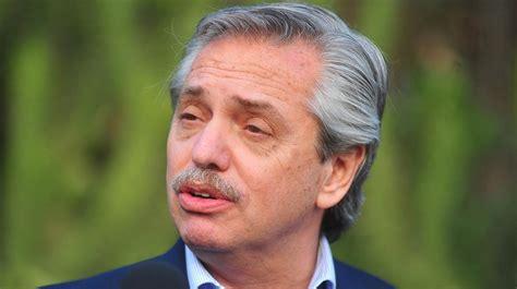 Presidente argentino Alberto Fernández dice no aceptará el ...