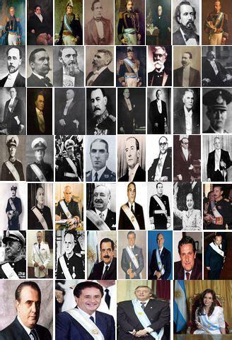 Presidentes Argentinos http://www.argentour.com/es ...