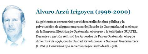 PRESIDENTES DE GUATEMALA | melvingregorio2
