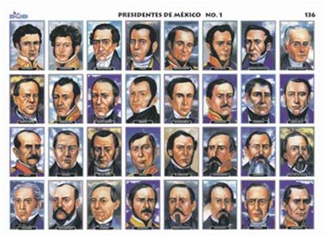 Presidentes de México 1   Ediciones Bob