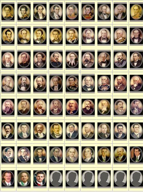 Presidentes de México  【2020】