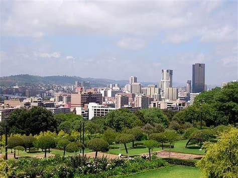 Pretoria, capital administrativa de Sudáfrica