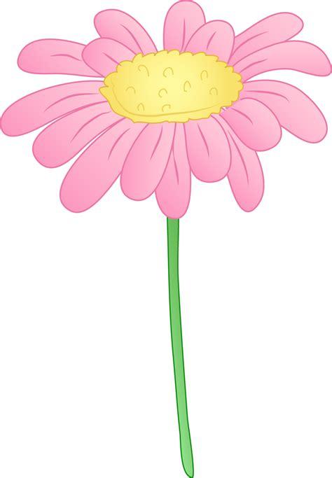 Pretty Pink Daisy Flower   Free Clip Art