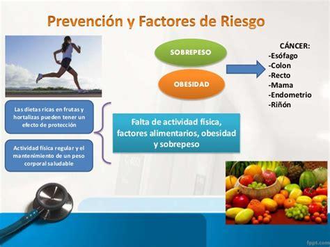 Prevención y factores de riesgo del cáncer