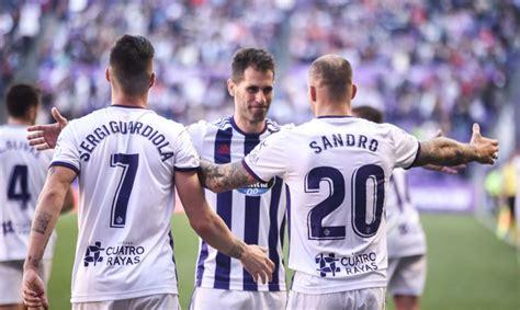 Previa del partido de fútbol entre el Real Valladolid y el ...