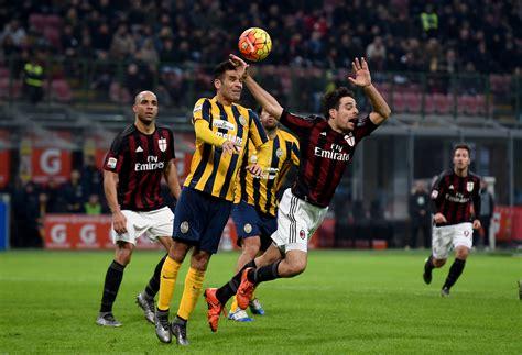 Preview: Coppa Italia Round of 16   AC Milan vs. Hellas Verona