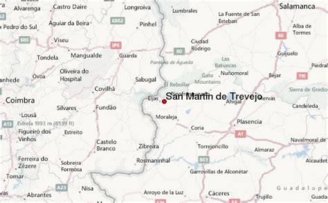 Previsión del Tiempo para San Martin de Trevejo