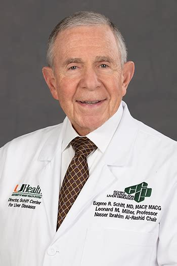 PRIME Faculty Biography   Eugene R Schiff, MD, MACP, FRCP ...