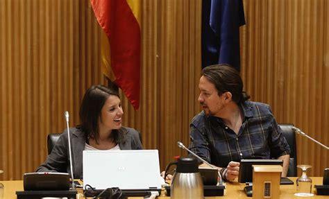 Primera aparición de Pablo Iglesias e Irene Montero tras ...