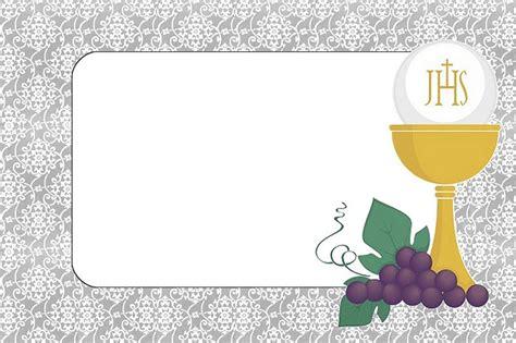 Primera Comunión: Invitaciones para Imprimir Gratis ...