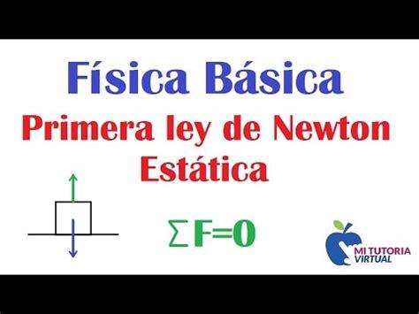 Primera Ley de Newton   Estatica de la Particula ...