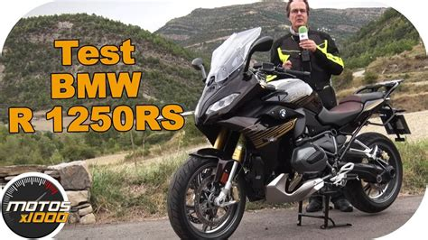 Primera Prueba BMW R1250 RS   Motosx1000   YouTube