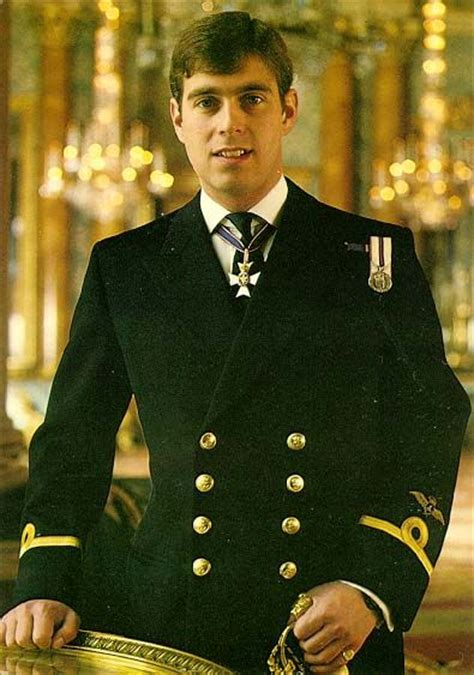 Prince Andrew, youngest son of Queen Elizabeth and Prince ...