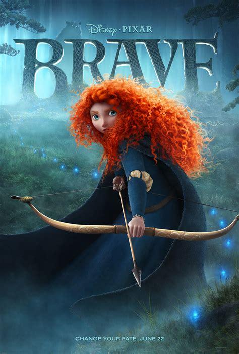 Princesas Disney: Nuevo Póster de la Princesa Merida de Brave