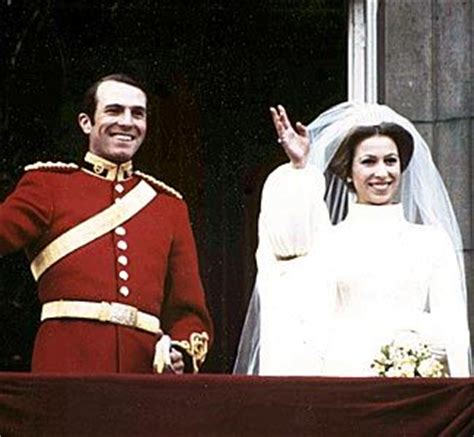 Princess Anne and Mark Phillips | Famous Weddings ...