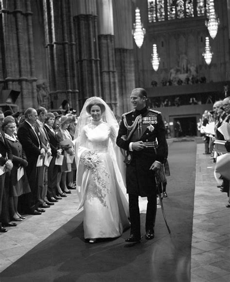 Princess Anne and Mark Phillips Wedding | HELLO!