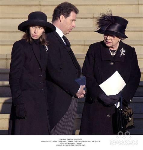 Princess Margaret s funeral. Her children Lady Sarah ...