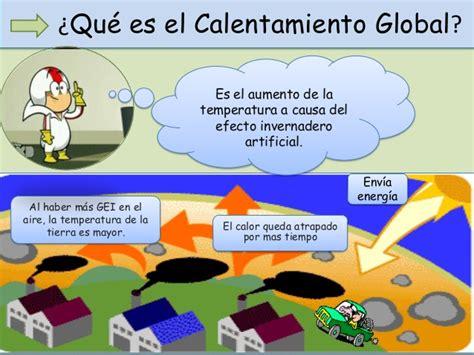 Principales causas del calentamiento global y el cambio ...