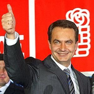 Principales hechos de Zapatero al frente del Gobierno y ...