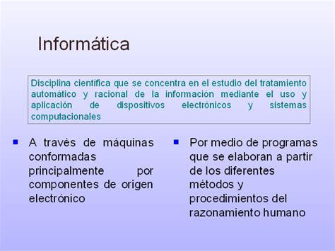 Principios y conceptos básicos de la informática ...
