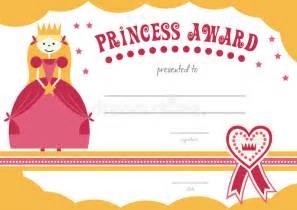 Printable Princess Certificate Has A Pretty Pink Stock ...
