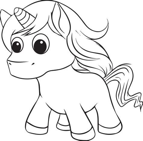 Printable Unicorn Coloring Page for Kids #2 – SupplyMe