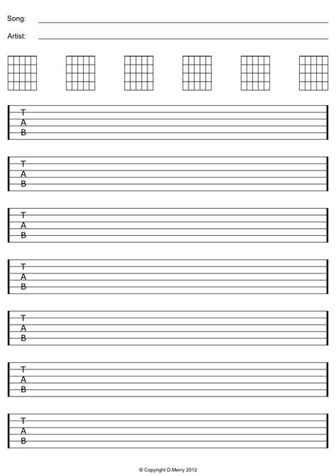 printables free guitar tab   Google zoeken in 2020 ...