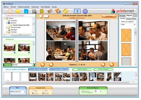 Printernet para crear álbumes y calendarios de fotos