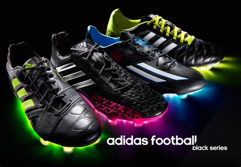 Pro Direct Soccer   adidas Black Pack Football Boots ...