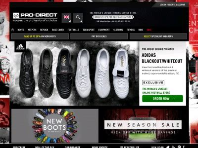Pro Direct Soccer discounts, voucher codes   80% november ...